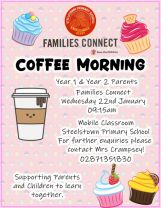 Families Connect Coffee Morning