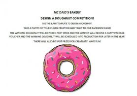 McDaid's Bakery - Design a Doughnut Competition
